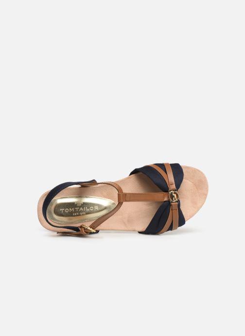 Sandales et nu-pieds Tom Tailor Leonore Bleu vue gauche