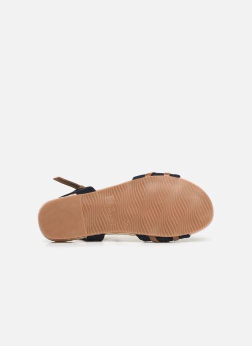 Sandales et nu-pieds Tom Tailor Leonore Bleu vue haut