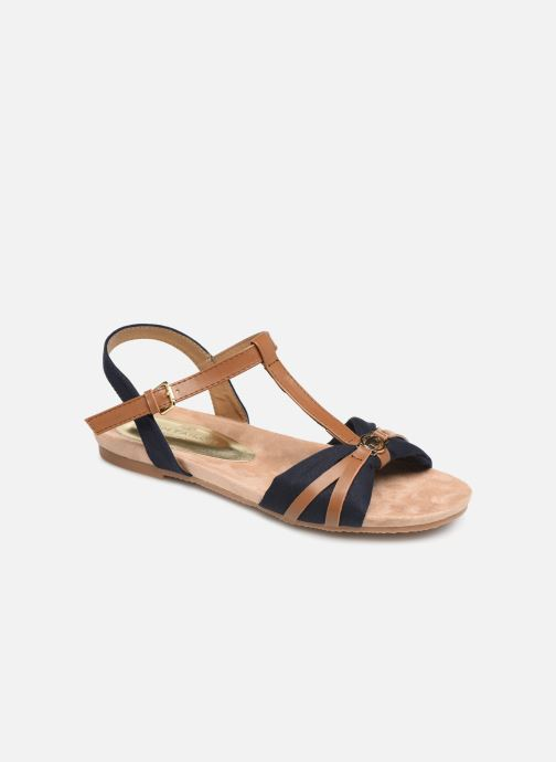 Sandals Tom Tailor Leonore Blue detailed view/ Pair view
