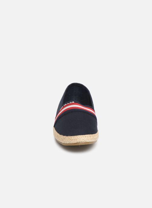 Espadrilles Tom Tailor Marlene Bleu vue portées chaussures