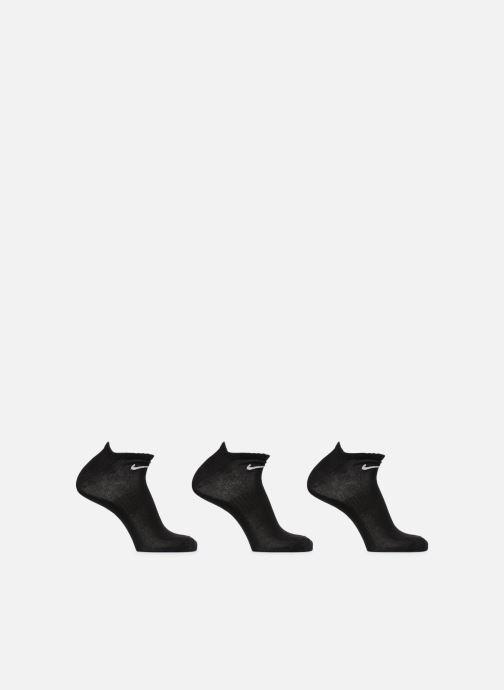 Chaussettes et collants Nike Nike Everyday Lightweight No-Show 3PR Noir vue détail/paire