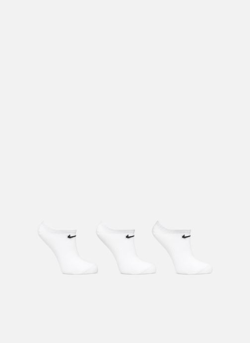 Chaussettes et collants Nike Nike Everyday Lightweight No-Show 3PR Blanc vue détail/paire