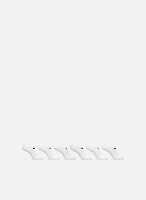 Chaussettes et collants Nike Nike Everyday Lightweight No-Show 6PR Blanc vue détail/paire