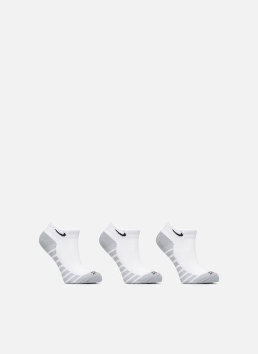 Sokken en panty's Nike Unisex Nike Dry Lightweight No-Show Training Sock (3 Pair) Wit detail
