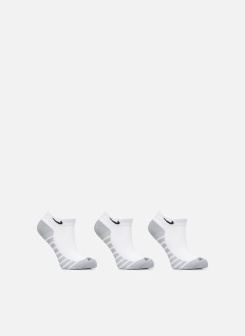 Sokken en panty's Nike Unisex Nike Dry Lightweight No-Show Training Sock (3 Pair) Wit detail