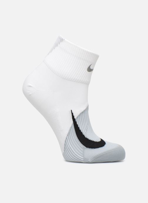 Chaussettes et collants Nike Nike Elite Lightweight Quarter Running Socks Blanc vue détail/paire