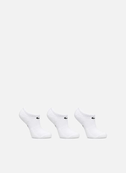 Chaussettes et collants Nike Kids' Nike Performance Cushioned No-Show Training Socks (3 Pair) Blanc vue détail/paire