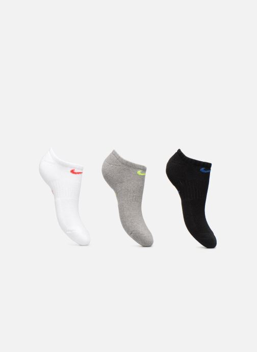 Chaussettes et collants Nike Kids' Nike Performance Cushioned No-Show Training Socks (3 Pair) Noir vue détail/paire