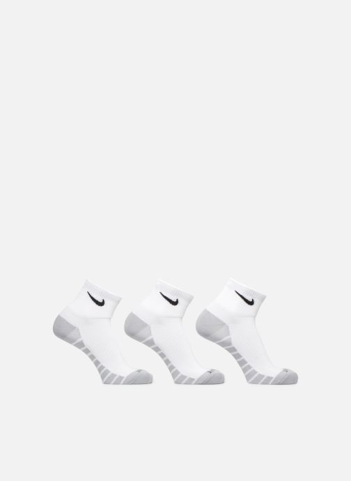 Sokken en panty's Nike Unisex Nike Dry Lightweight Quarter Training Sock (3 Pair) Wit detail