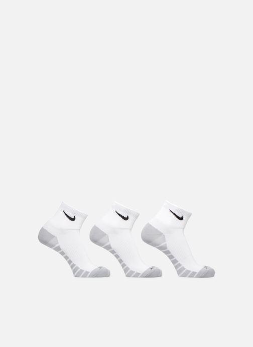 Chaussettes et collants Nike Unisex Nike Dry Lightweight Quarter Training Sock (3 Pair) Blanc vue détail/paire