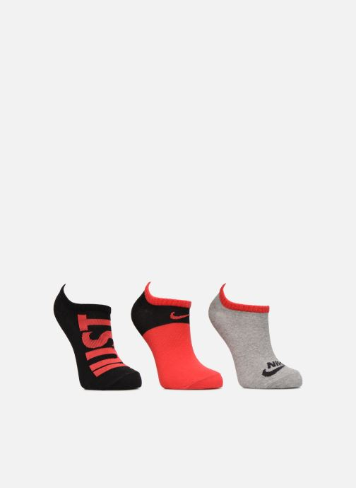 Chaussettes et collants Nike Kids' Nike Performance Lightweight Low Training Socks (3 Pair) Rouge vue détail/paire