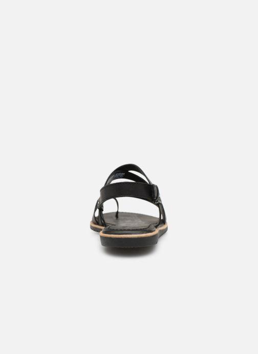 Sandales et nu-pieds Sorel Ella Criss Cross Noir vue droite