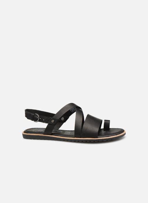 Sandales et nu-pieds Sorel Ella Criss Cross Noir vue derrière