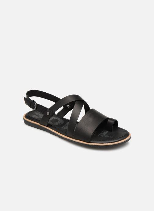 Sandales et nu-pieds Sorel Ella Criss Cross Noir vue détail/paire