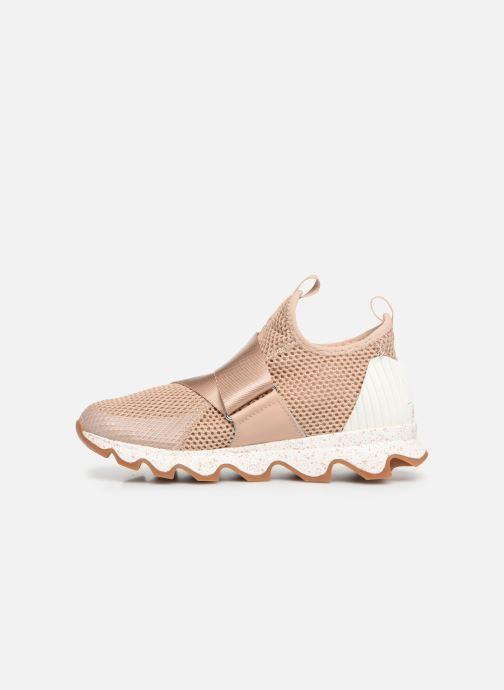 Sneaker Sorel Kinetic Sneak beige ansicht von vorne