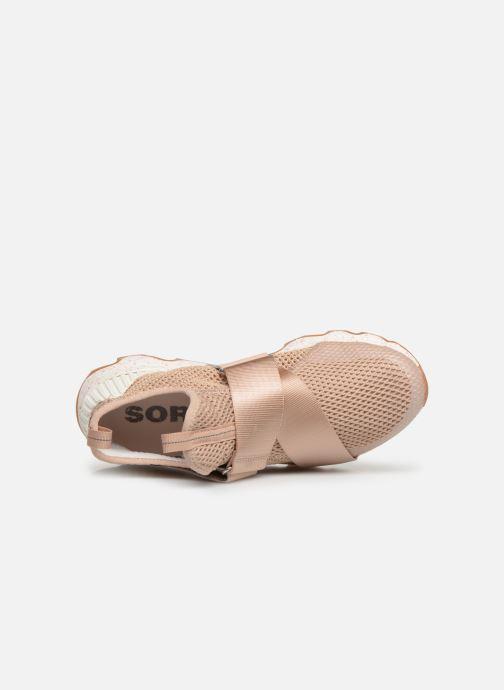 Sneaker Sorel Kinetic Sneak beige ansicht von links