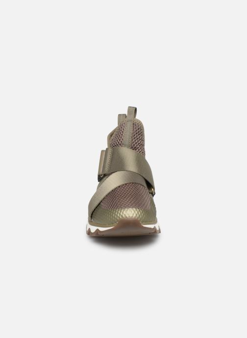 Baskets Sorel Kinetic Sneak Vert vue portées chaussures