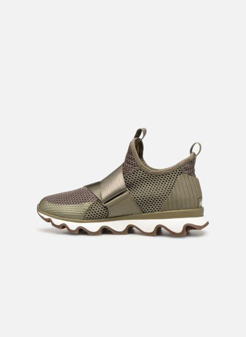 Sneakers Sorel Kinetic Sneak Grøn se forfra