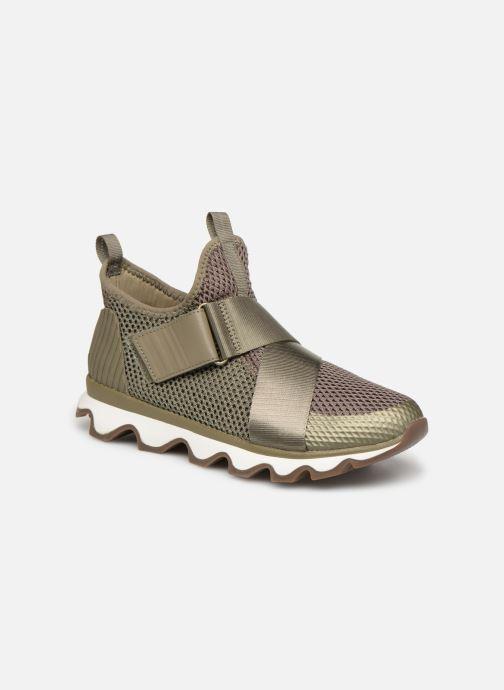 Sneakers Sorel Kinetic Sneak Grøn detaljeret billede af skoene