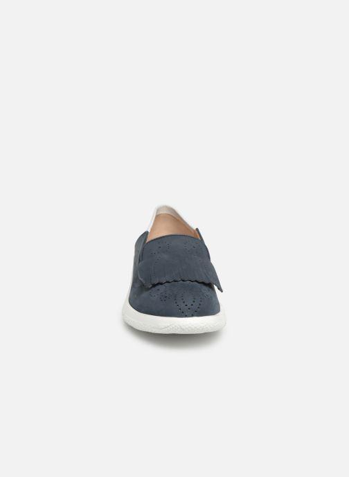 Mocassins Fratelli Rossetti Gemma Bleu vue portées chaussures