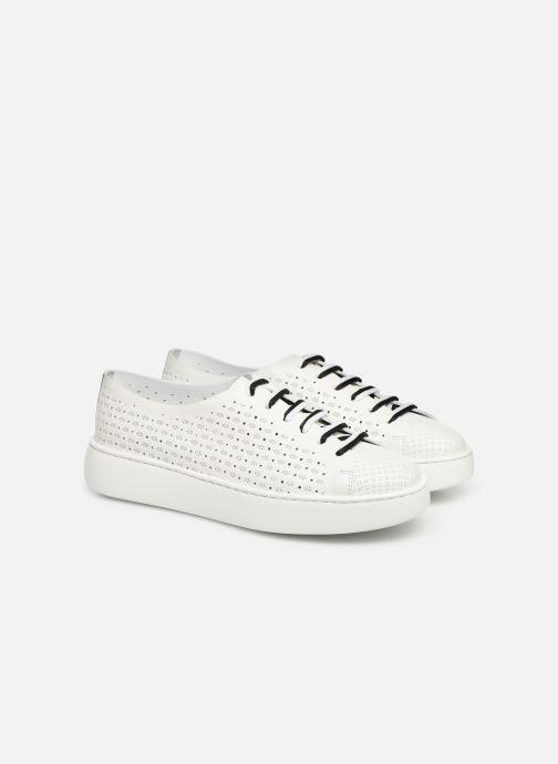 Sneakers Fratelli Rossetti Fiore Bianco immagine 3/4