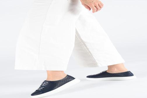 Sneakers Fratelli Rossetti Fiore Bianco immagine dal basso