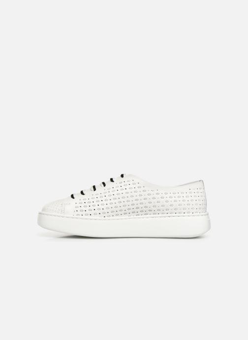Sneakers Fratelli Rossetti Fiore Bianco immagine frontale