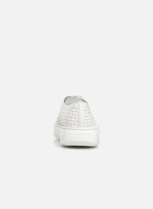 Sneakers Fratelli Rossetti Fiore Bianco immagine destra
