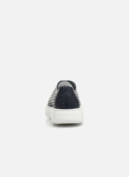 Sneakers Fratelli Rossetti Fiore Azzurro immagine destra