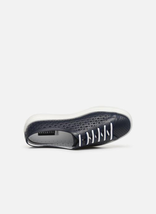 Sneakers Fratelli Rossetti Fiore Azzurro immagine sinistra