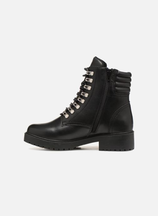 Ankle boots Bullboxer 387504F6L Black front view