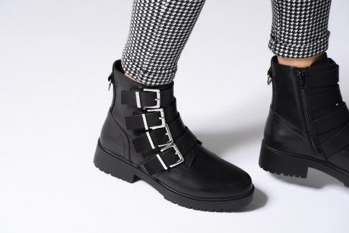 Bottines et boots Bullboxer 387517F6L Noir vue bas / vue portée sac