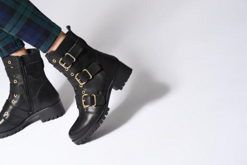 Boots en enkellaarsjes Bullboxer 390504E6L Zwart onder