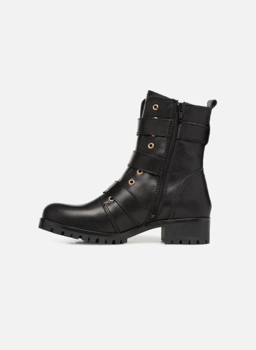 Boots en enkellaarsjes Bullboxer 390504E6L Zwart voorkant