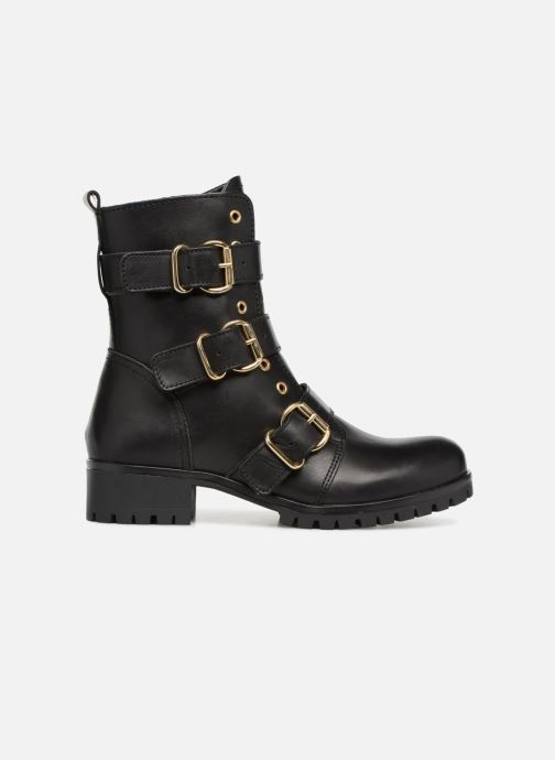 Boots en enkellaarsjes Bullboxer 390504E6L Zwart achterkant