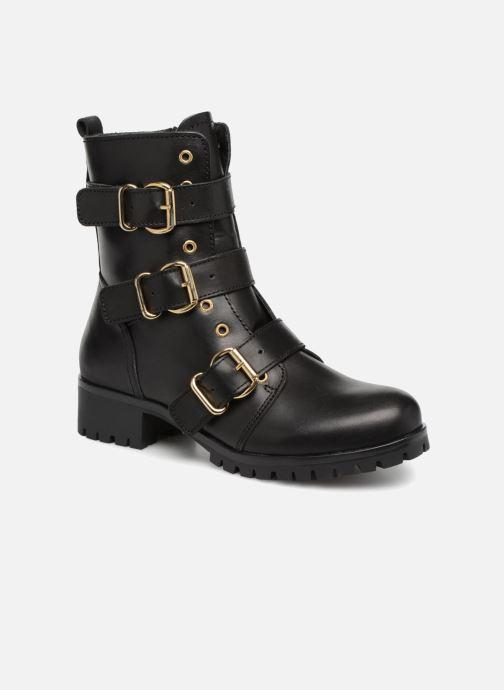 Boots en enkellaarsjes Bullboxer 390504E6L Zwart detail
