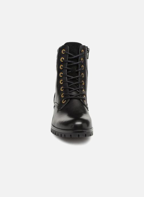 Boots en enkellaarsjes Bullboxer 390508E6L Zwart model