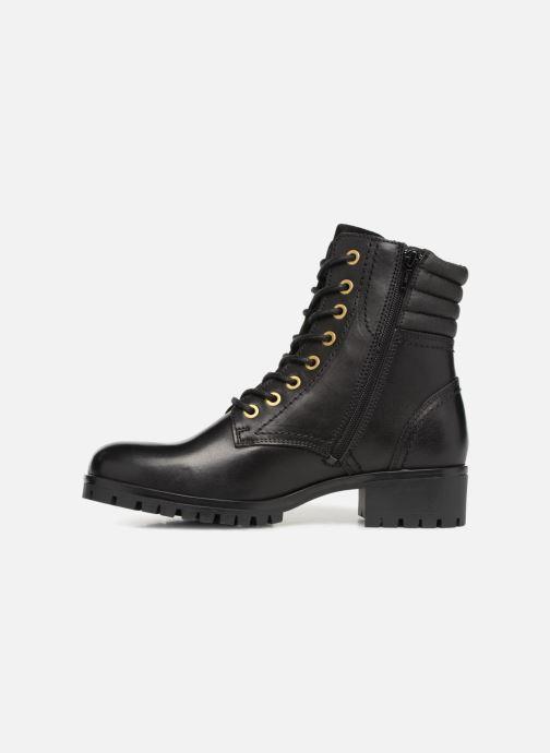Boots en enkellaarsjes Bullboxer 390508E6L Zwart voorkant