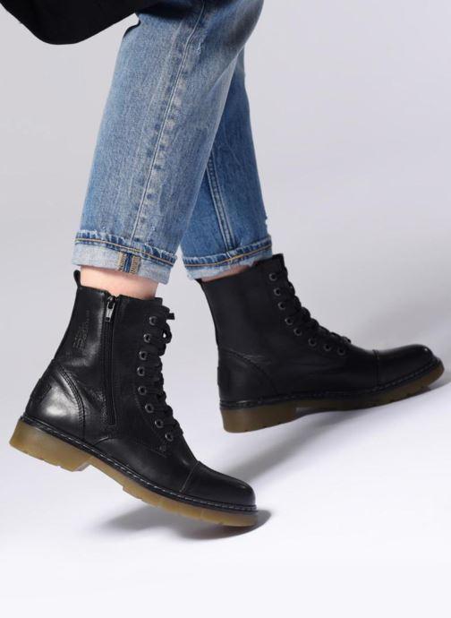 Bottines et boots Bullboxer 875M86551 Noir vue bas / vue portée sac