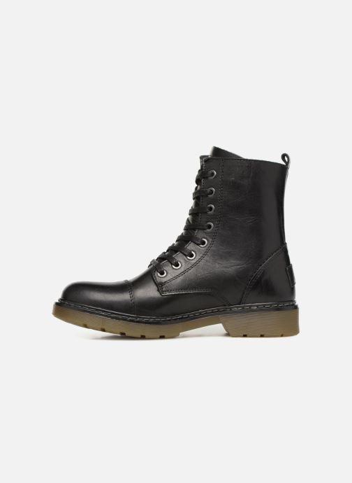 Boots en enkellaarsjes Bullboxer 875M86551 Zwart voorkant