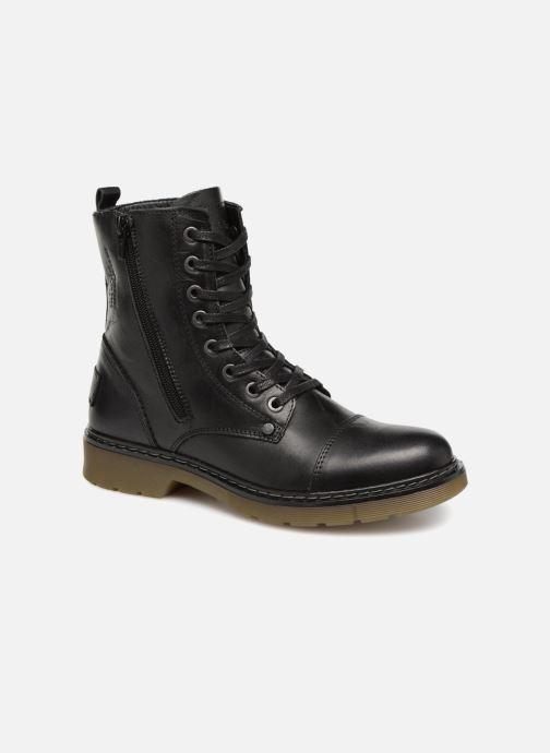 Boots en enkellaarsjes Bullboxer 875M86551 Zwart detail