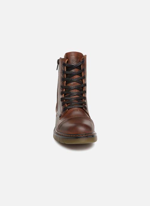 Bottines et boots Bullboxer 875M86551 Marron vue portées chaussures