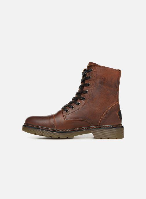 Boots en enkellaarsjes Bullboxer 875M86551 Bruin voorkant