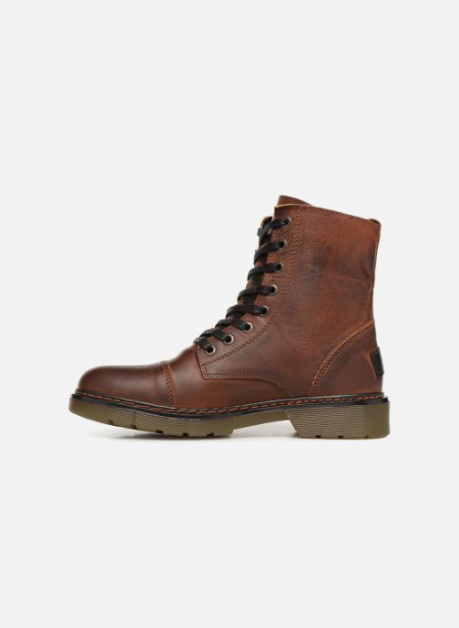 Bottines et boots Bullboxer 875M86551 Marron vue face