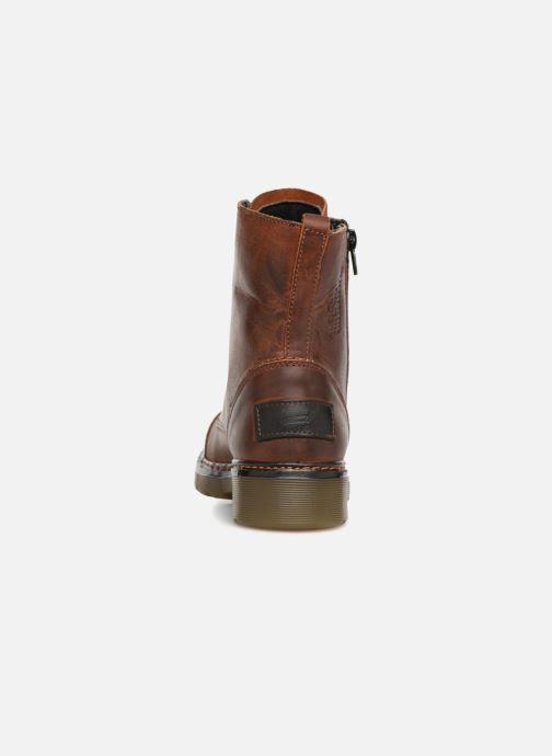 Bottines et boots Bullboxer 875M86551 Marron vue droite