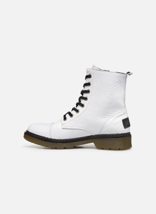 Boots en enkellaarsjes Bullboxer 875M86551 Wit voorkant