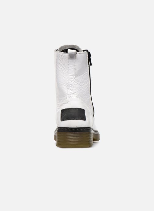 Boots en enkellaarsjes Bullboxer 875M86551 Wit rechts