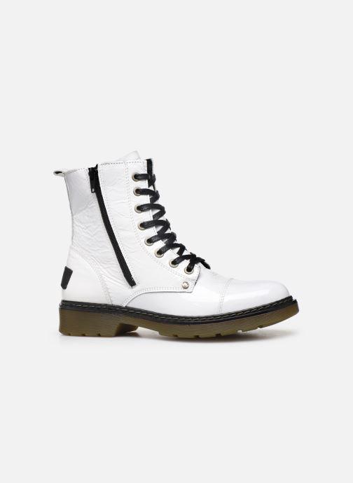 Boots en enkellaarsjes Bullboxer 875M86551 Wit achterkant