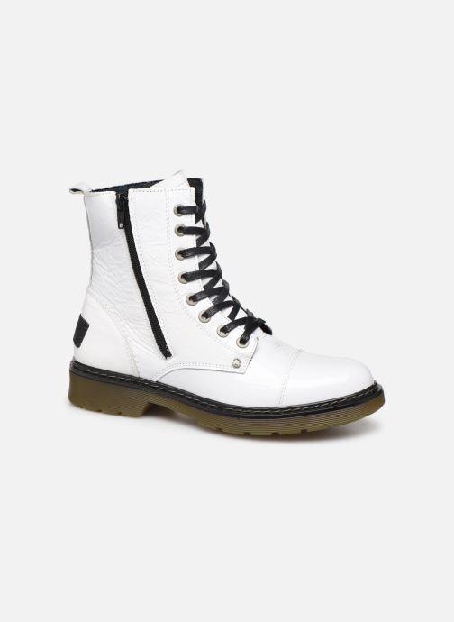 Boots en enkellaarsjes Bullboxer 875M86551 Wit detail