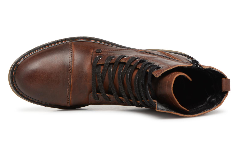 Bottines et boots Bullboxer 875M86551 Marron vue gauche